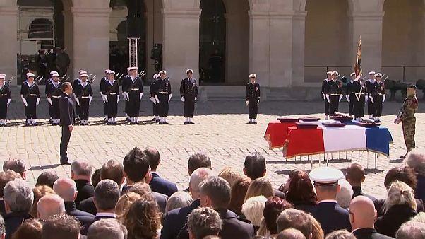 Francia rinde un sentido homenaje a los dos soldados caídos en Burkina Faso