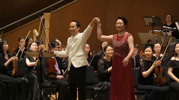 Észak- és dél-koreai közös koncert