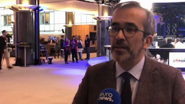 O interesse nacional é defendido via Europa, diz Paulo Rangel (PSD)