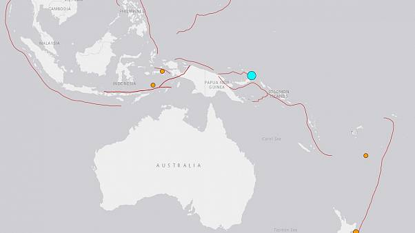 Παπούα-Νέα Γουινέα: Ήρθη η προειδοποίηση για τσουνάμι