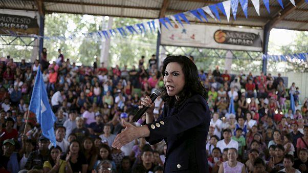 Zury Ríos en la ciudad de Guatemala, el 30 de agosto de 2015.