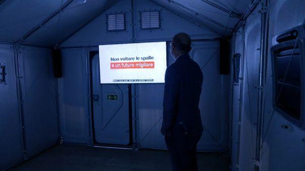 El arte se rinde a los refugiados en la Bienal de Venecia