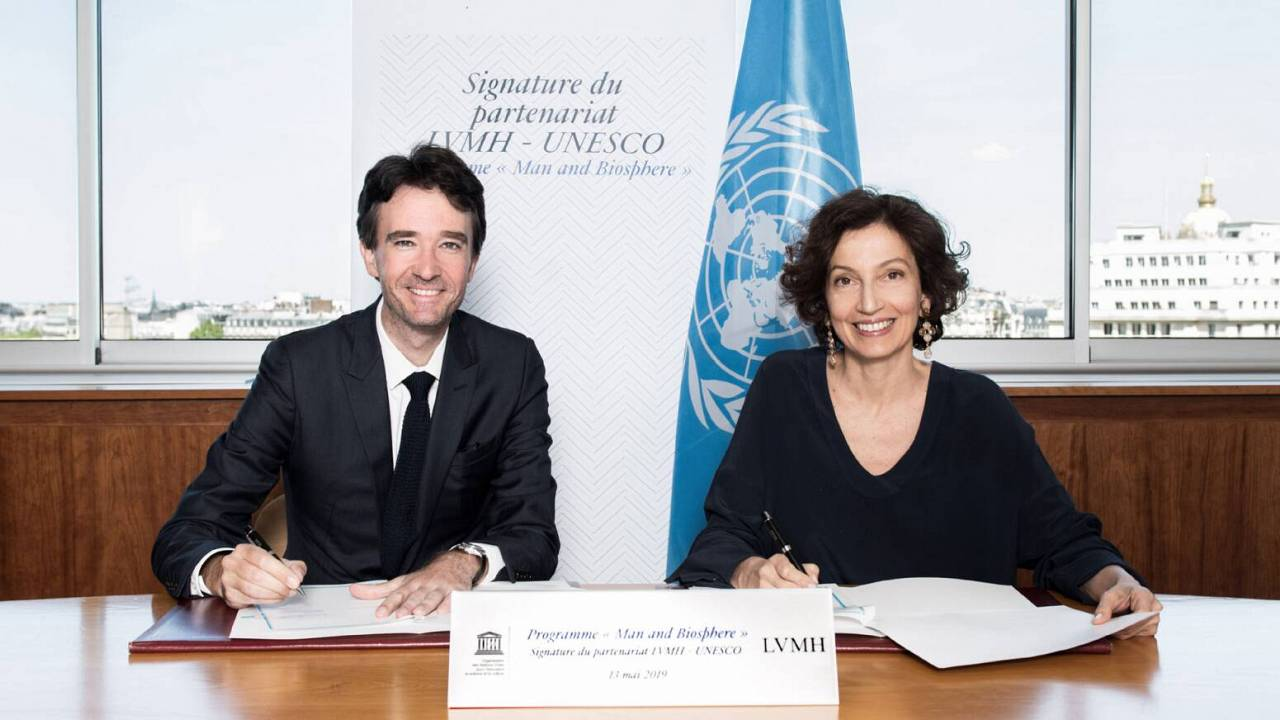 LVMH announces signature of a five-year partnership with UNESCO