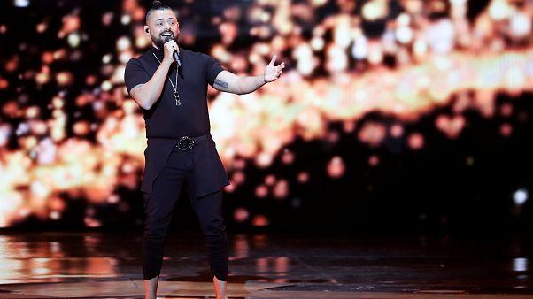 Nem jutott be az Eurovíziós Dalfesztivál döntőjébe Pápai Joci