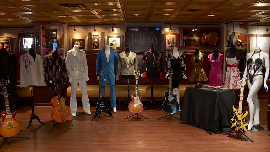 More than 600 items will be auctioned at the Hard Rock Café and online