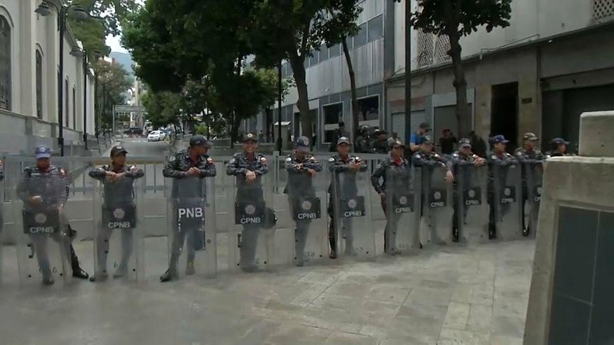 Venezuela: amenaza de bomba en el Parlamento