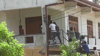 هجوم على أحد منازل المسلمين في سريلانكا