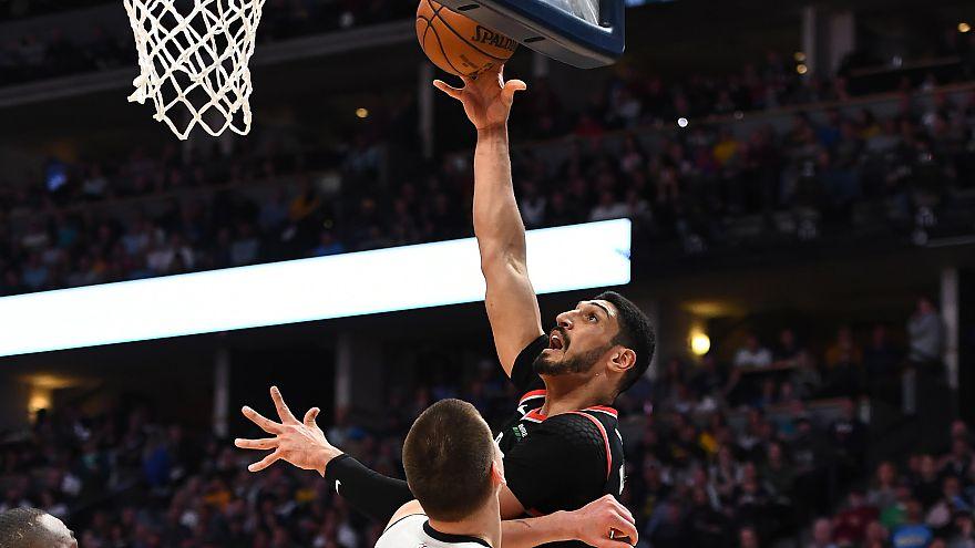 S Sport Plus Enes Kanter'in oynadığı NBA Batı Konferansı final maçını yayınlamadı