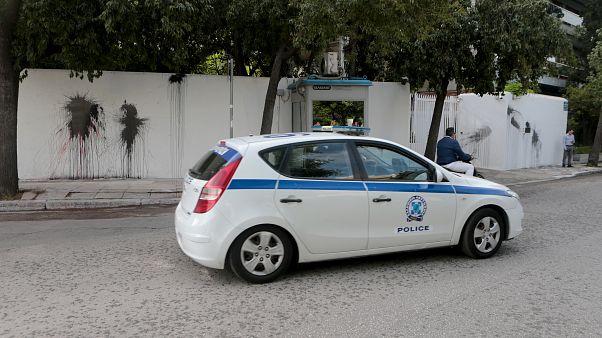 Αθήνα: Επίθεση με μπογιές στην οικία του Αμερικανού πρέσβη - Tι απαντάει ο ίδιος ο πρέσβης
