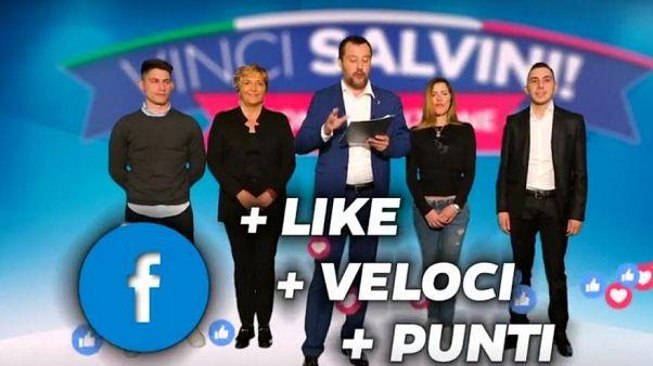 """""""اربح سالفيني"""".. لعبة على الإنترنت أطلقها زعيم حزب """"الرابطة"""" اليميني في إيطاليا"""