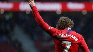 Griezmann anuncia adeus ao Atlético de Madrid