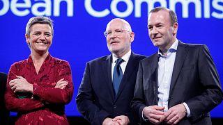 Watch again: EU top job hopefuls clash in Eurovision Presidential Debate