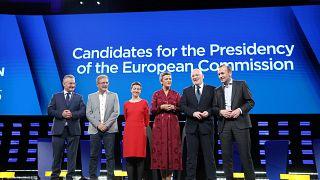 Europee: tutte le risposte date dai 6 candidati alla Commissione Ue nel dibattito