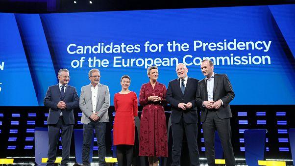 Spitzenkandidats for the top EU job on May 15, 2019.