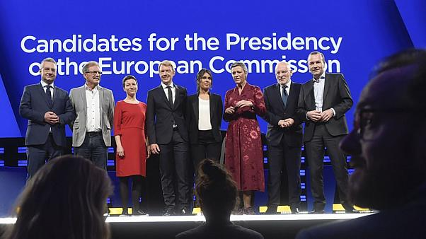 Candidatos à presidência da União Europeia