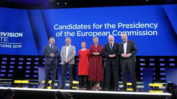 Candidatos a la Presidencia de la Comisión /Eurovision Debate