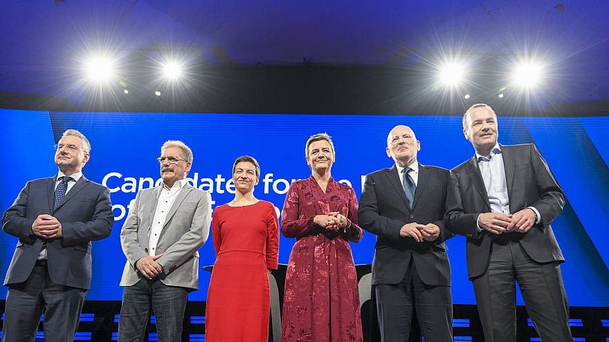 Candidates for the Presidency EC/Eurovision Debate - EU Elections 2019