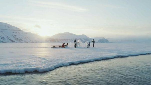 """Mit """"Eismusik"""" für den Schutz der Weltmeere"""
