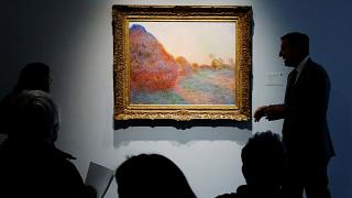 Monet's 'Meules' painting sells for record-breaking nearly €1 million