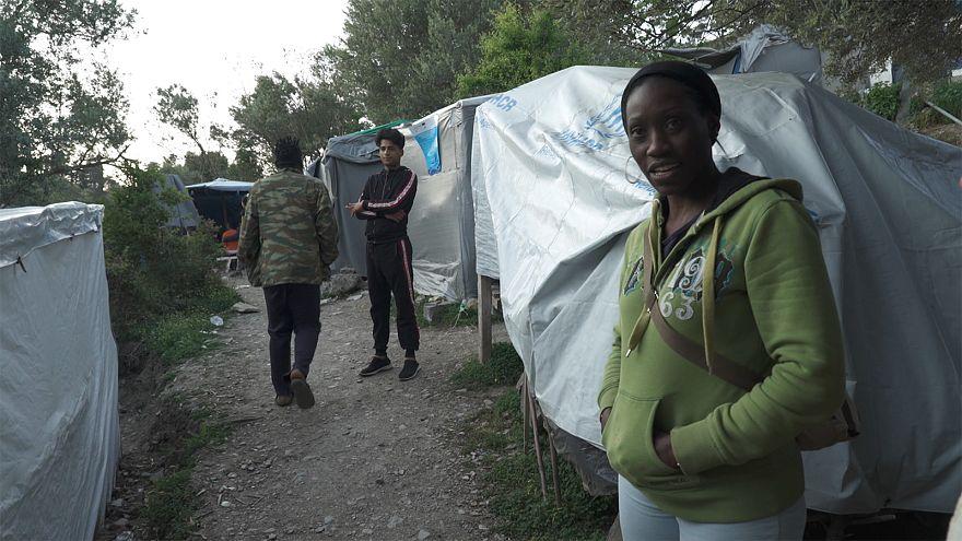 """Flüchtlinge auf Samos: Überlebenskampf im """"Dschungel"""""""
