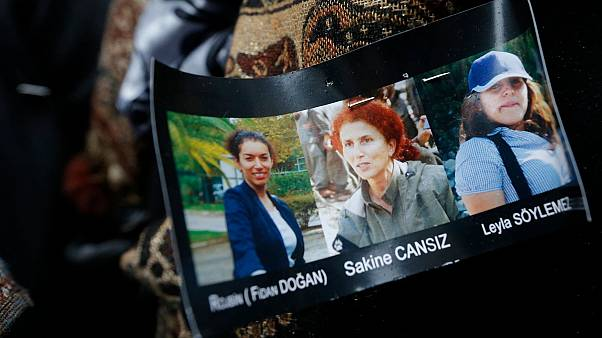 Paris'te öldürülen 3 PKK'lı kadın