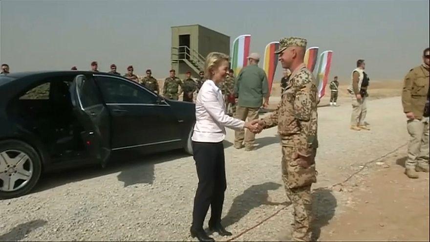 Irak: Bundeswehr unterbricht Ausbildung irakischer Soldaten