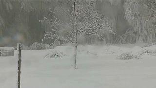 Verrückt! Auf Korsika schneit es Mitte Mai