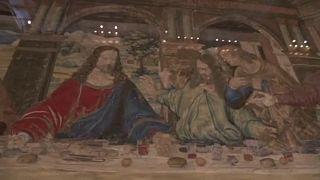 El fog tűnni Leonardo freskója, Az utolsó vacsora