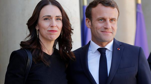 Macron and Ardern pledge to eliminate violent content online