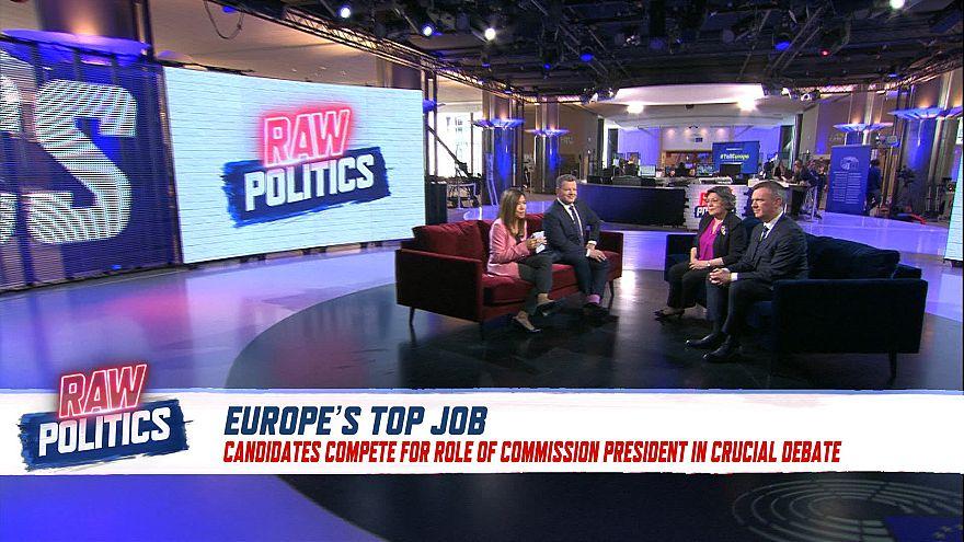 Raw Politics in full: Spitzenkandidat debate preview and Macron v. Weber