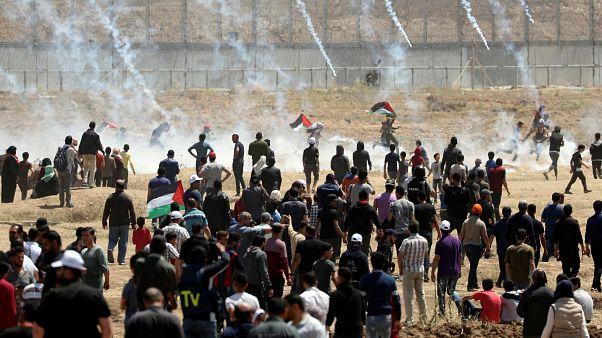 İsrail askerlerinin müdahalesinde 50 Filistinli yaralandı