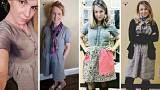 Teacher wears same dress for 100 days to support sustainable fashion