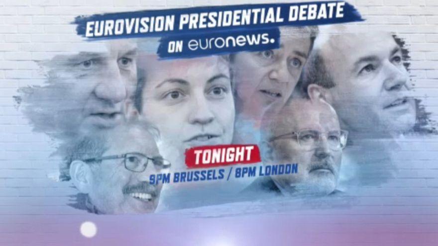 JETZT LIVE: Die Debatte der Spitzenkandidaten für die Juncker-Nachfolge
