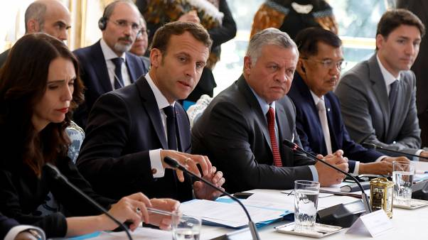 رئيسة وزراء نيوزيلندا تشارك في اجتماع باريس بشأن مكافحة التطرف على الإنترنت