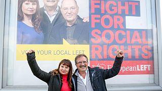 Nico CUÉ and Violeta TOMIC, European Left lead candidates