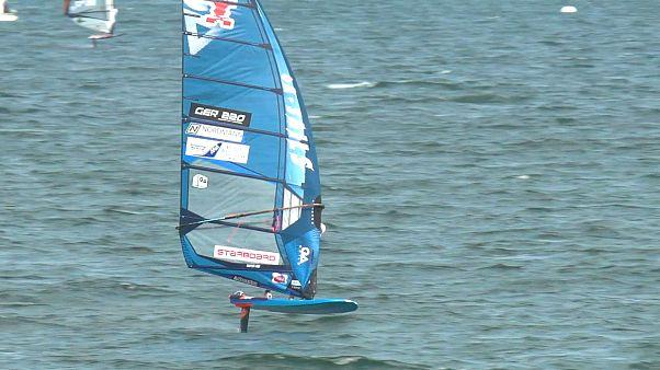 Los franceses lideran el campeonato mundial de windsurf PWA