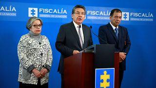 Fiscal general de Colombia renuncia por decisión de no extraditar a un exjefe de las FARC
