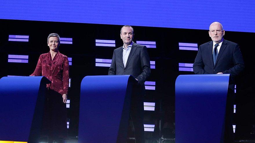 Tutti contro tutti nel dibattito presidenziale europeo