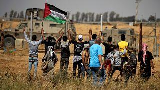 Protestos palestinianos marcam 71 anos da 'Nakba'