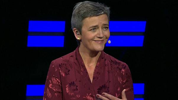 EU Presidential Debate: 'A tax haven is a place where everyone pays their taxes,' says Vestager