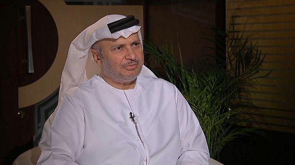 Sabotage gegen Öl-Tanker - Interview mit Anwar Gargash