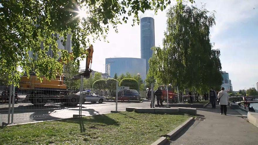 Строительство храма в Екатеринбурге приостановлено