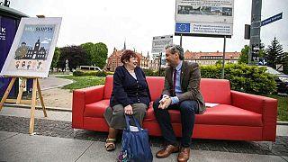 #Euroadtrip En ruta a las europeas-Día 44: Un día con el único político abiertamente gay en Polonia