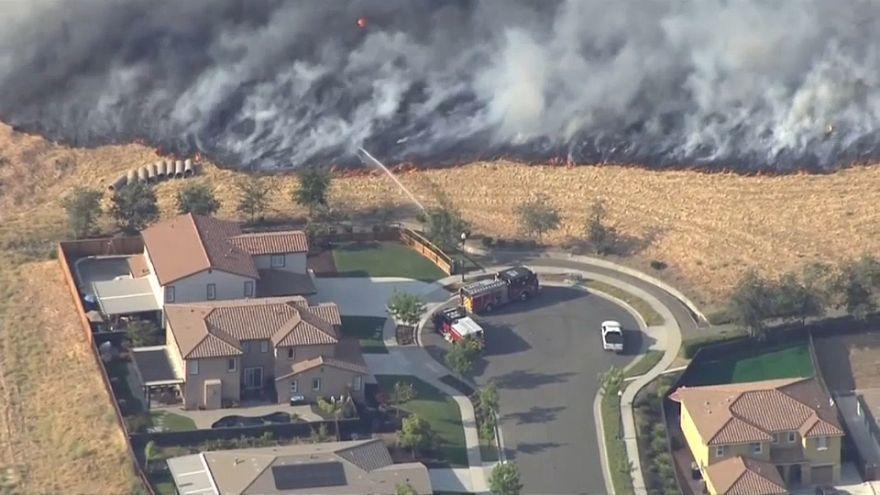 Калифорнийские пожары: кто виноват?