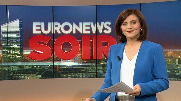 Euronews Soir : l'actualité du jeudi 16 mai