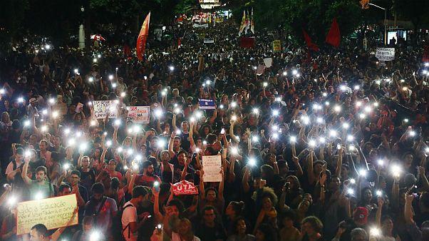 دانشجویان برزیلی در خیابان؛ نخستین اعتراض گسترده به دولت راستافراطی