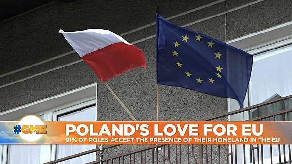 Polish support for EU booming despite clashes with Brussels