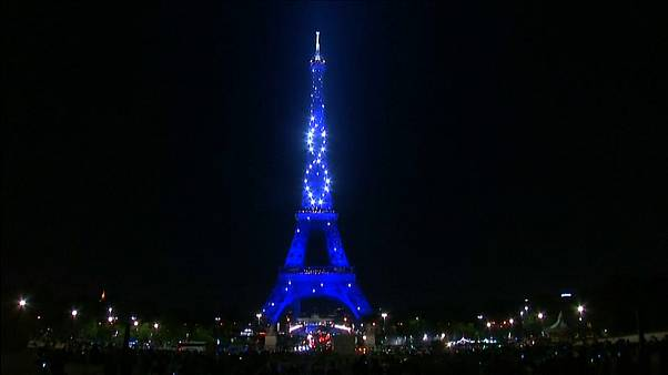 Seven million tourists visit the Eiffel Tower each year