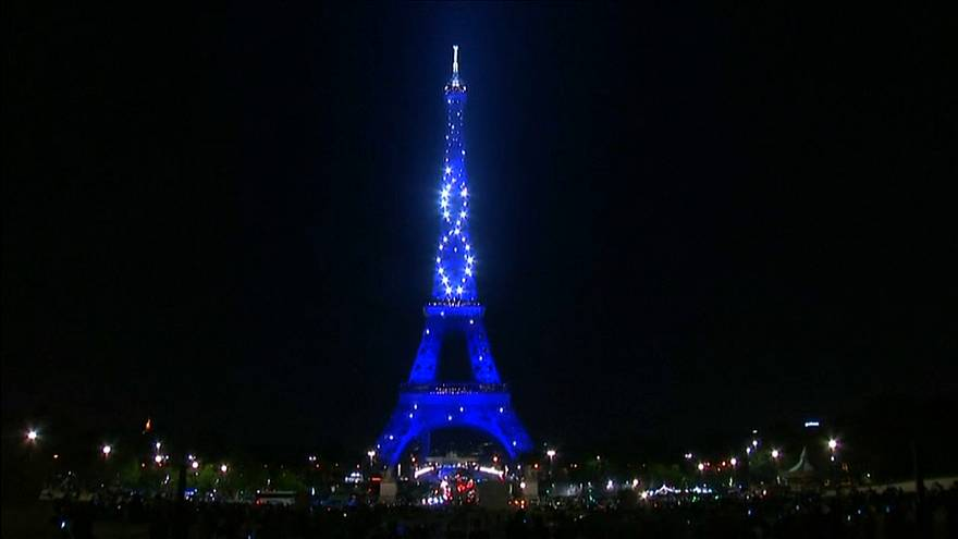 Seven million tourists visit the Eiffel Tower each year