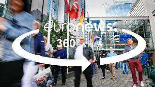 360° tour: What's it like inside the European Parliament?